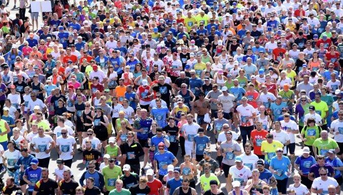 Перед Рижским марафоном для транспорта закрывается набережная 11 ноября