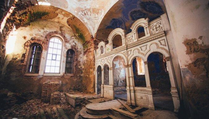 ФОТО. Утраченная слава: Заброшенная церковь в Лидере