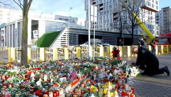 Президент посетил место трагедии в Золитуде (ФОТО)