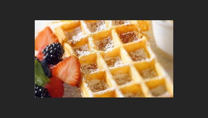 Рецепты сладких и соленых вафель на завтрак