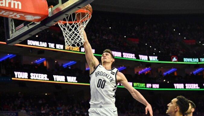 Kurucam pieci punkti 'Nets' dramatiskā zaudējumā 'Raptors' komandai
