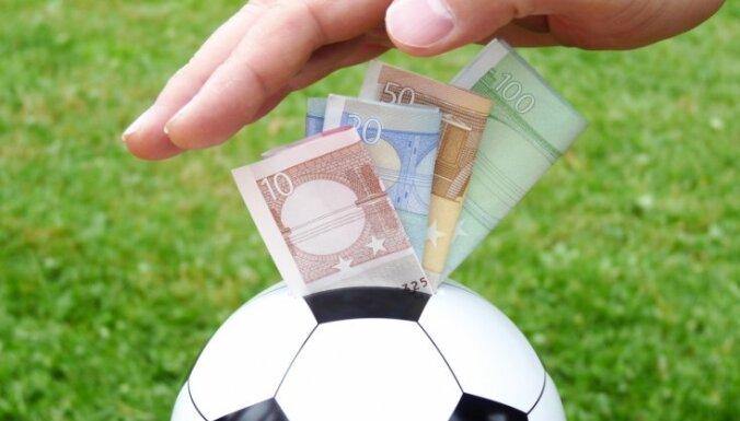 LFF pērn 'dāvinājumos' izmaksāja 60 000 eiro