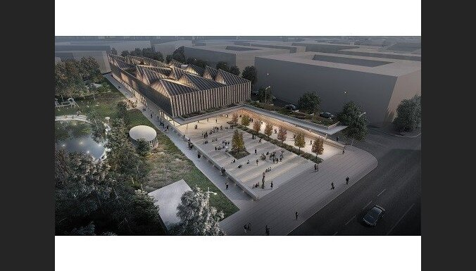 Latvijas Laikmetīgās mākslas muzeja veidolam izvēlas britu piedāvājumu