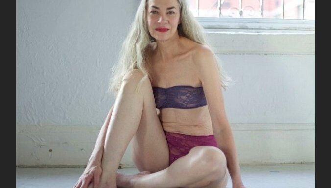 Модель белья в 62 года: Джеки О`Шонесcи поражает мир своей смелостью