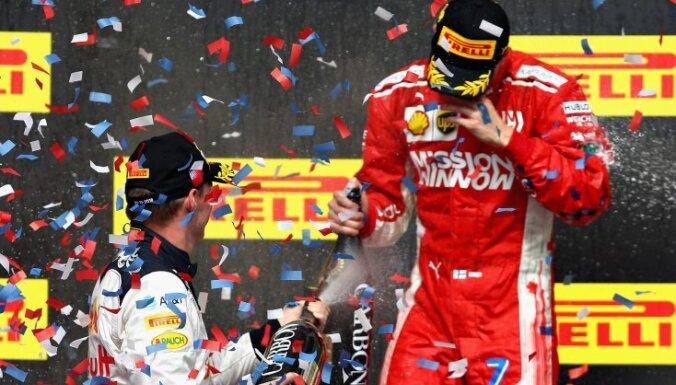 """Райкконен выиграл первую гонку """"Формулы-1"""" за пять лет и побил рекорд Шумахера"""