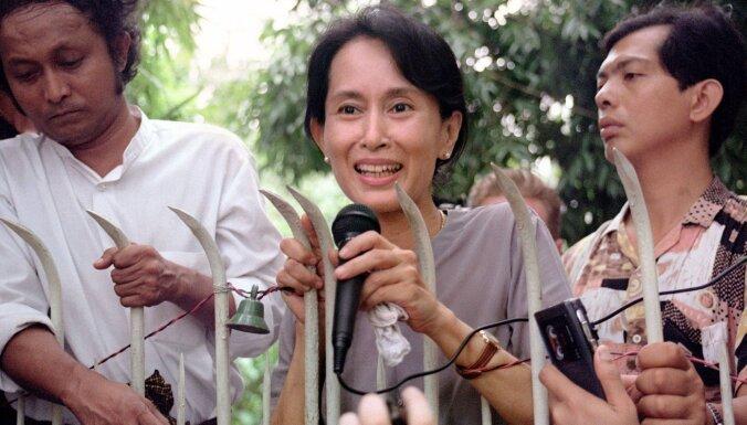 Mjanmas armija apsūdz Su Či par korupciju