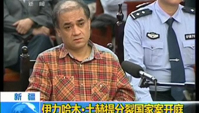 ES parāda attieksmi Ķīnai: 2019. gada Saharova balvu iegūst uigurs Ilhams Tohti