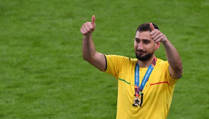 Вратарь итальянцев Доннарумма — лучший игрок ЕВРО, Роналду — лучший голеадор