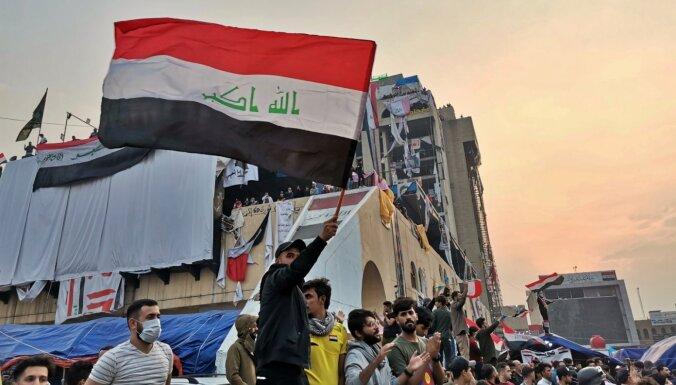 Irākas prezidents apstiprināšanai nevirza Irānas atbalstītu premjera kandidātu