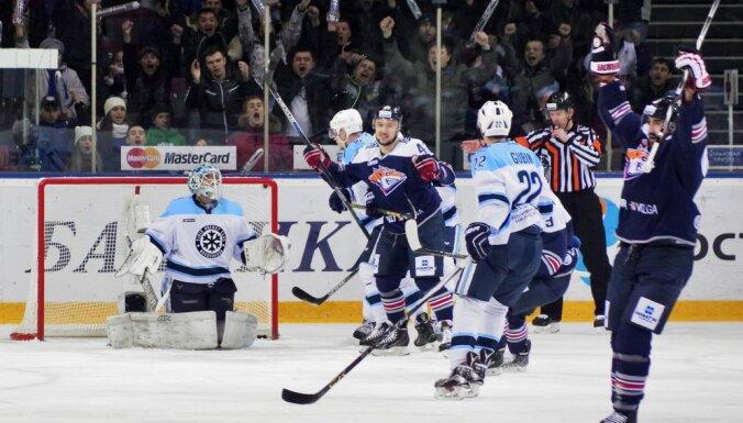 Kontinental Hockey League. Metallurg Magnitogorsk vs. Sibir