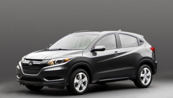 'Honda' prezentējusi jauno 'HR-V' apvidnieku