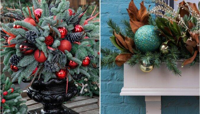 ФОТО. Идеи для вдохновения: как красиво украсить крыльцо к зимним праздникам