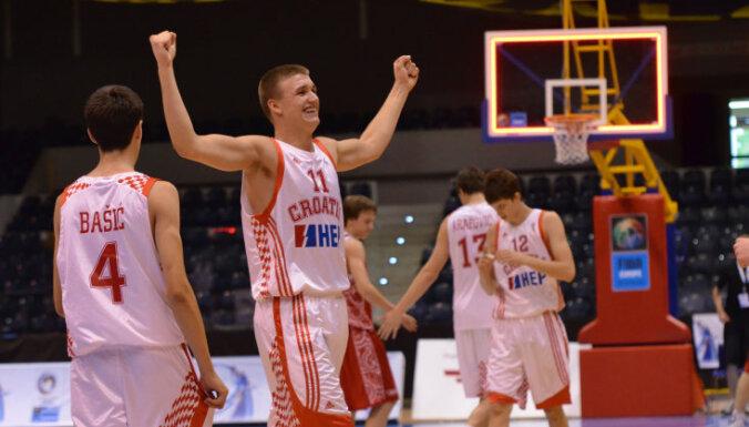 'Ventspils' papildina sastāvu ar Eiropas jauniešu čempionātos zeltu izcīnījušo Gabriču