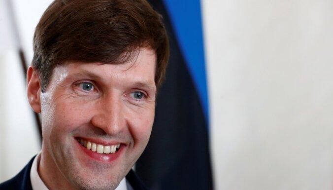 Igaunijas parlamentam neizdodas izteikt neuzticību finanšu ministram Martinam Helmem