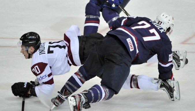 Фото и видеообзор игры Латвия — США
