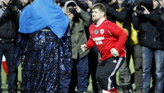 Сборная Кавказа Кадырова обыграла звезд мирового футбола