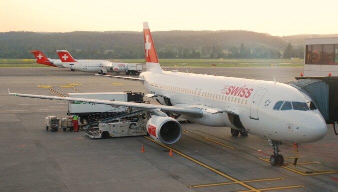 'Swiss International Airlines' sāks lidojumus no Rīgas