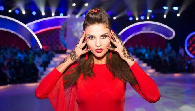 Diāna Kubasova kronēta par skaistāko Eiropas sievieti