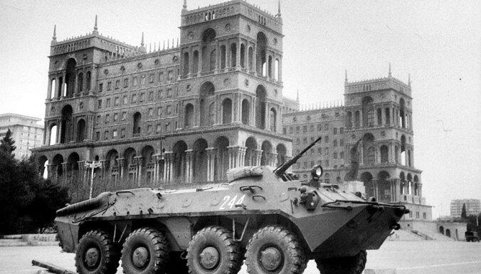 Asiņainās un pretrunīgās brīvības cīņas Baku: 'Melnajam janvārim' - 25