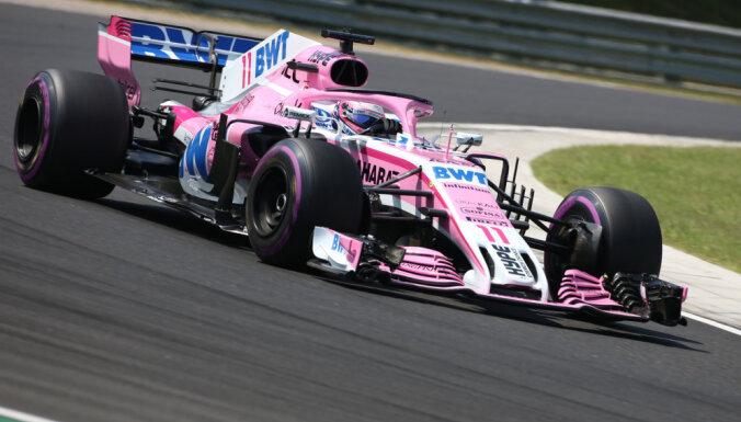 F-1 komandai 'Force India' jauns nosaukums un atņemti punkti