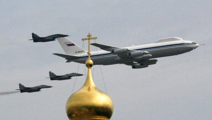 Krievijā apzagta slepenā 'pastardienas lidmašīna' Il-80