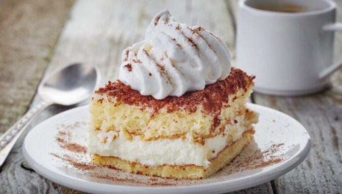 Konditoreju klasika: kūkas 'Pārsla'