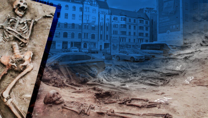 На месте средневекового кладбища в центре Риги построят кафе