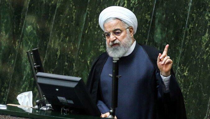 Ruhani: Irāna bagātina vairāk urāna nekā pirms kodolvienošanās parakstīšanas