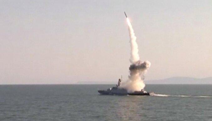 Krievija atpakaļ uz Vidusjūru nosūta divus karakuģus