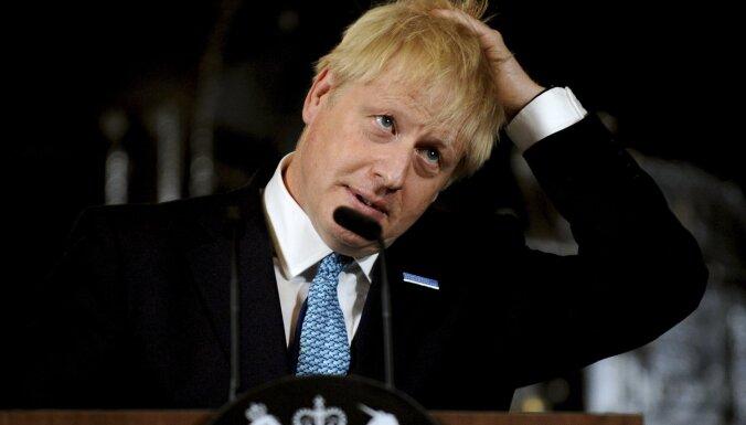 Lielbritānijas parlamentā bloķē Džonsona atkārtotu mēģinājumu rīkot balsojumu par 'Brexit' vienošanos