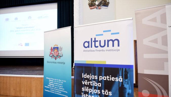 'Altum' atbalsts Covid-19 krīzes skartajiem uzņēmumiem būs pieejams līdz gada beigām