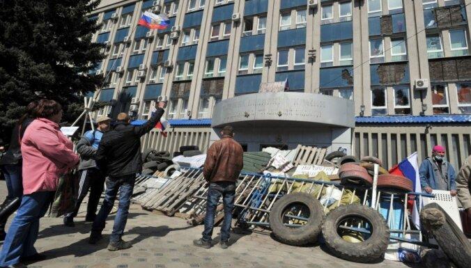 Власти Луганска требуют отменить антитеррористическую операцию
