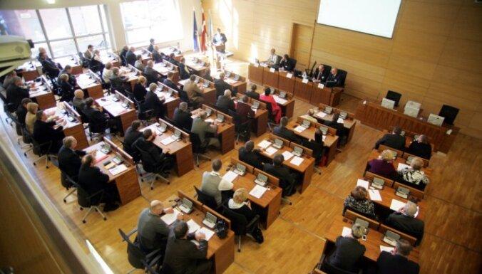В Рижской думе могут ввести лимит на вопросы от депутатов