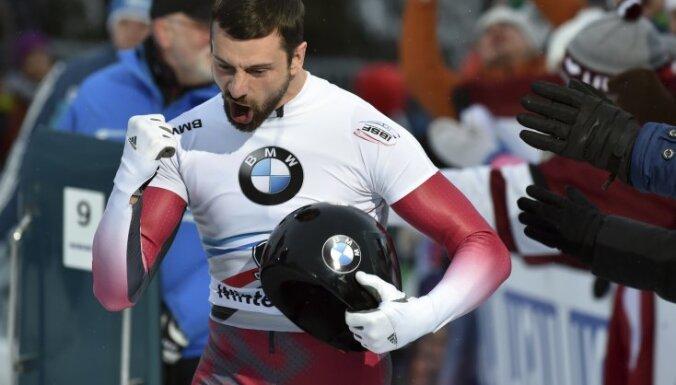 Latvian skeleton racer Martins Dukurs