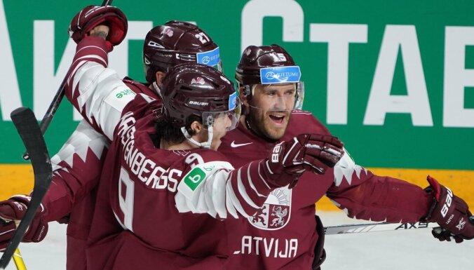 Защита и вратари сборной Латвии — среди лучших после первых трех туров на чемпионате мира