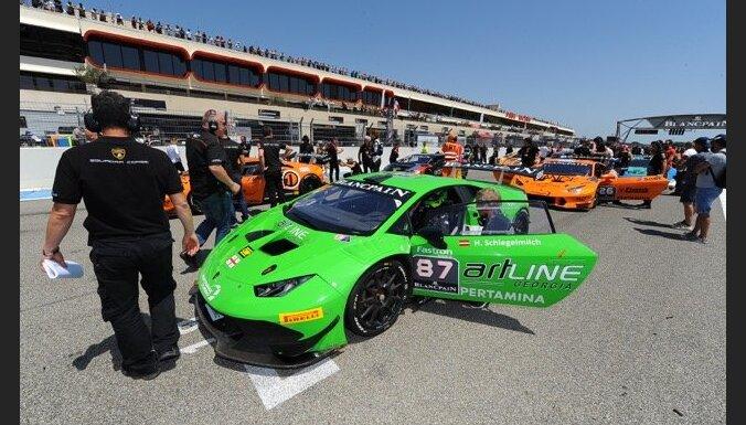 Šlēgelmilhs noslēdzošajā 'Lamborghini' kausa posmā cīnīsies par čempiona titulu