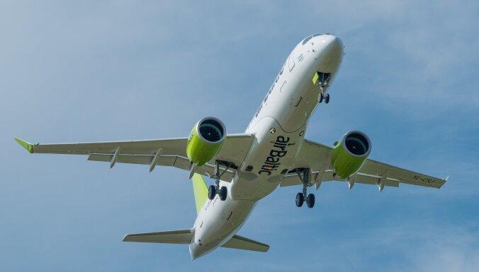 Названы самые популярные маршруты airBaltic для отдыха этим летом