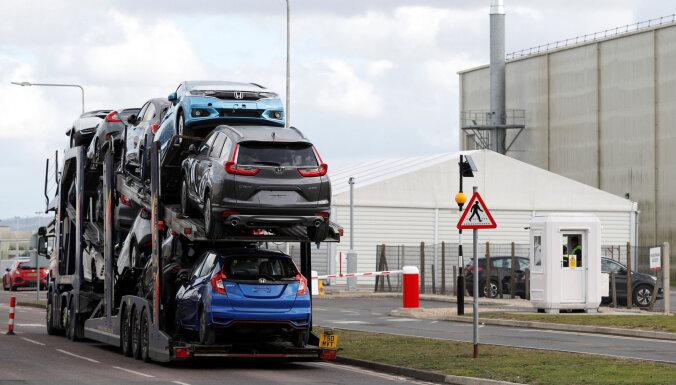 Automašīnu ražošana Lielbritānijā jūnijā nokritusies par 48,2%