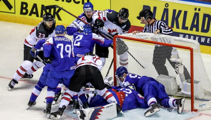 Kanāda fantastiskas spēles pēdējā sekundē sarūgtina mājinieci Slovākiju