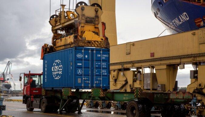 Februārī Latvijas ārējās tirdzniecības apgrozījums – par 4,6% lielāks nekā pirms gada