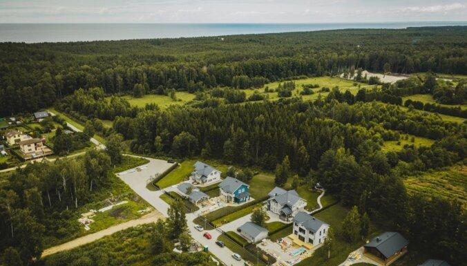 ФОТО: в Латвии появился первый поселок в финском стиле