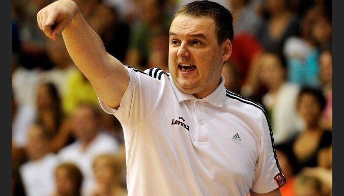 У сборной Латвии по баскетболу новый тренер