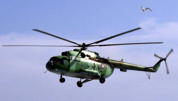 В Геленджике во время открытия авиасалона рухнул вертолет Ми-8