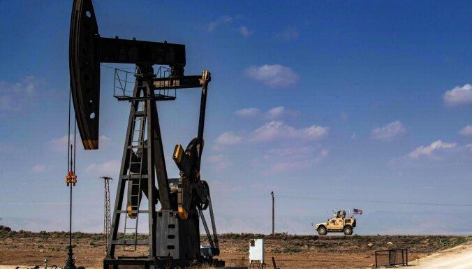 Sīrijā dronu uzbrukumos cietuši trīs naftas un gāzes rūpniecības objekti