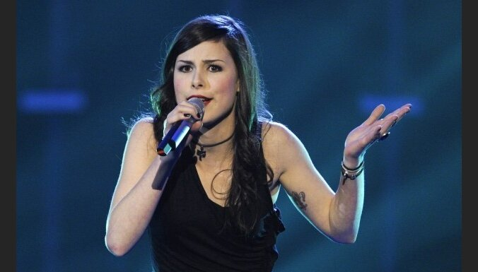 Eirovīzijas dziesmu konkursā uzvarējusi Vācijas pārstāve