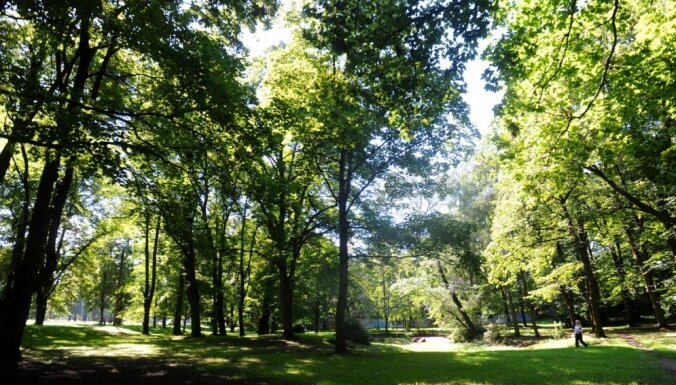 Pašvaldība Aldara parka atjaunošanai piesaistīs 2,4 miljonu eiro lielu ES finansējumu