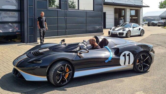 Latvijā nonācis divus miljonus eiro vērts 'McLaren Elva' superauto