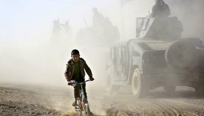 Irākas spēki Mosulā pietuvojušies Tigras upei