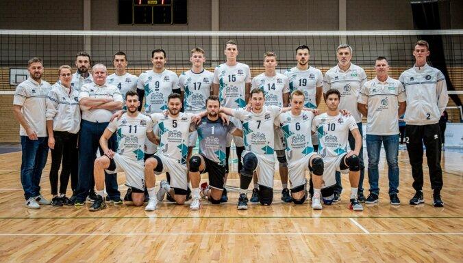 'RTU Robežsardze'/'Jūrmala' volejbolisti pievienojas 'Lūšiem' Latvijas čempionāta finālu