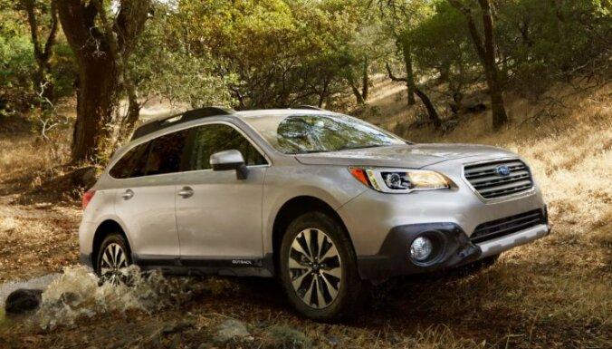Jaunās paaudzes 'Subaru Outback' pilnpiedziņas universālis
